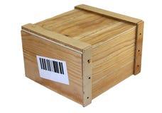 Drewniany pudełko obraz royalty free