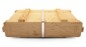 Drewniany pudełko Zdjęcia Stock