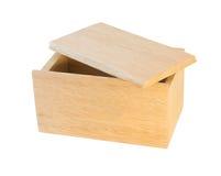 Drewniany pudełko Zdjęcia Royalty Free