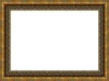 drewniany ramowy Obraz Royalty Free