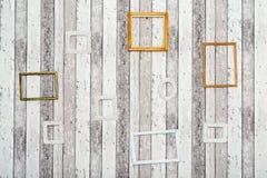 drewniany ramowy Obraz Stock