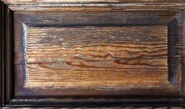 drewniany ramowy grunge Obrazy Royalty Free