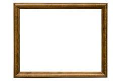 drewniany ramowy obrazek Zdjęcie Royalty Free