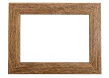 drewniany ramowy obrazek Fotografia Stock