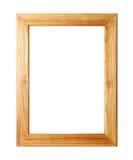drewniany ramowy obrazek Obraz Royalty Free