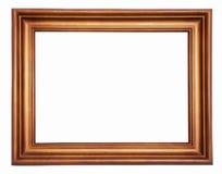 drewniany ramowy obrazek Obraz Stock