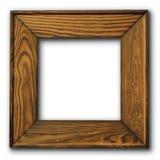 drewniany ramowy obrazek Zdjęcia Royalty Free