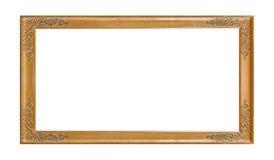 drewniany ramowy stary obrazek Fotografia Stock