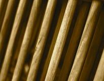 Drewniany round kształt protestuje abstrakcjonistyczną tło fotografię Zdjęcia Royalty Free