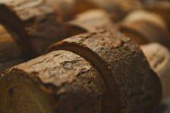 Drewniany round zakończenie up z boh keh tła abstrakcjonistyczną teksturą Zdjęcia Stock