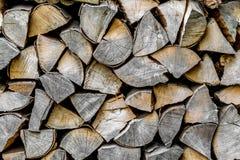 Drewniany rozsypisko Zdjęcia Royalty Free