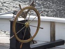 drewniany rudder stary statek Obraz Royalty Free