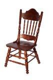 drewniany rzeźbiący krzesło Obrazy Royalty Free