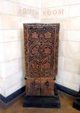 drewniany rzeźbiący panel Obraz Stock