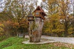 Drewniany rzeźbi Ukraina obrazy royalty free