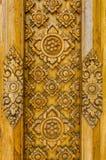 Drewniany rzeźbi Tajlandia Zdjęcie Stock