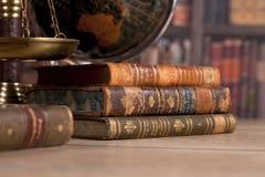 drewniany sędziego ` s młoteczek prawo Sędziego ` s biuro Obraz Stock