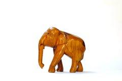 Drewniany słoń Zdjęcie Stock