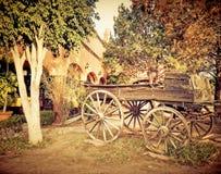 Drewniany samochód Zdjęcie Royalty Free