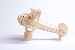 Drewniany samolot Obraz Royalty Free
