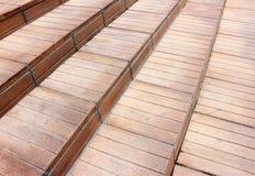 Drewniany schody Zdjęcie Stock