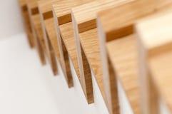 Drewniany schody Fotografia Stock
