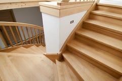 Drewniany schody Obraz Stock