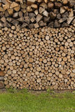 Drewniany składowy plenerowy Obraz Stock