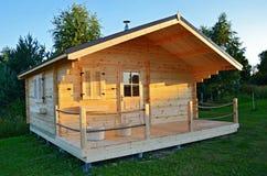 Drewniany skąpanie Obraz Royalty Free