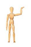 drewniany spajający mannequin fotografia royalty free