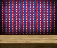 Drewniany stół Zdjęcie Stock