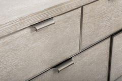 Drewniany stół odizolowywający na białym tle - wizerunek zdjęcie stock