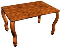 Drewniany stół Obraz Royalty Free