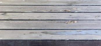 Drewniany stół Zdjęcia Royalty Free