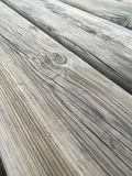 Drewniany stół 2 Obraz Royalty Free