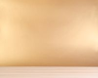 Drewniany stół Obrazy Royalty Free
