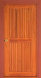 drewniany stajni drzwi Fotografia Royalty Free