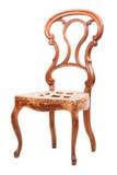 drewniany stary krzesło styl Zdjęcia Royalty Free