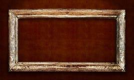 Drewniany stary rocznika klasyka ramy projekt Zdjęcie Stock