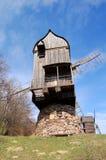 drewniany stary wiatraczek Obrazy Stock