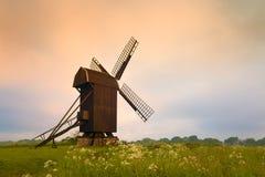 drewniany stary wiatraczek Obraz Royalty Free