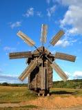 drewniany stary wiatraczek Fotografia Stock