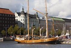 Drewniany statek Obraz Stock