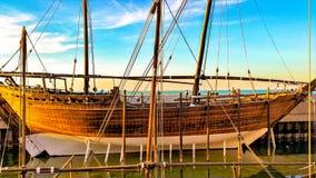 Drewniany statek Obrazy Stock