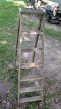 Drewniany stepladder Fotografia Stock
