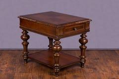 Drewniany stolik do kawy Obraz Royalty Free