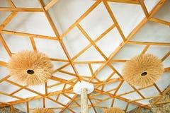 Drewniany sufit Obraz Stock