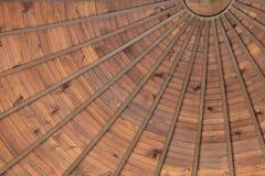 Drewniany sufit Zdjęcia Stock