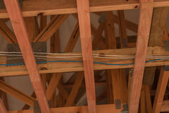 Drewniany sufit Obraz Royalty Free