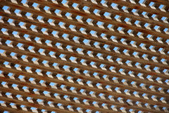 Drewniany Sunshade wzór Obrazy Stock